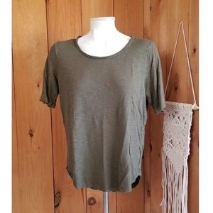 Madewell T-shirt Hunter Shirt Size M Green